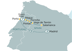 Madrid & Secrets of the Douro Madrid to Porto 2020