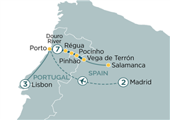 Madrid to Lisbon & Secrets of the Douro Madrid to Lisbon 2020