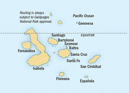 Galápagos Aboard National Geographic Endeavour II