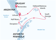 Antarctic Wildlife Adventure Ushuaia to Ushuaia  2021