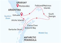 Antarctic Wildlife Adventure Ushuaia to Ushuaia  2020
