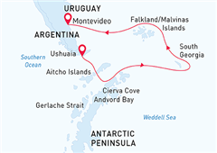 Antarctic Wildlife Adventure Ushuaia to Montevideo  2020