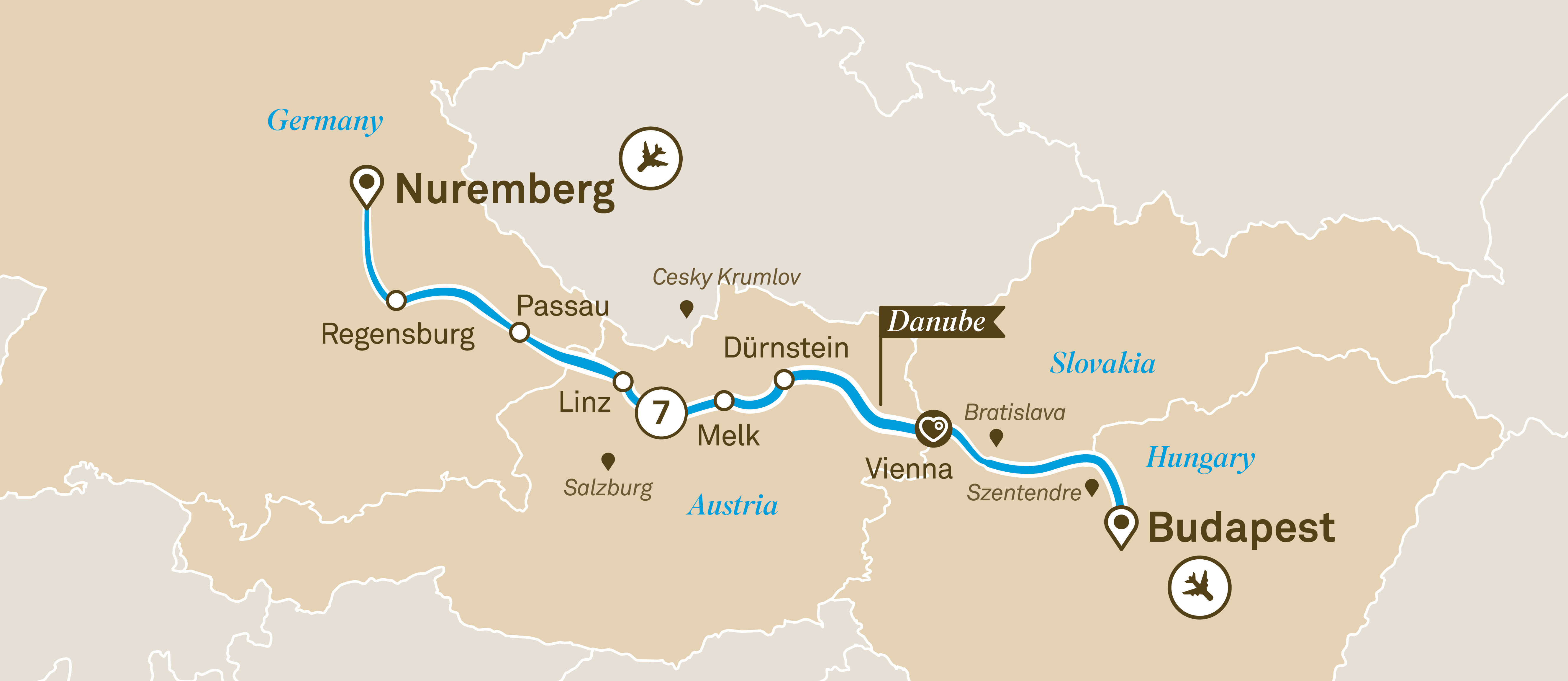 Gems of the Danube Nuremberg to Budapest 2019