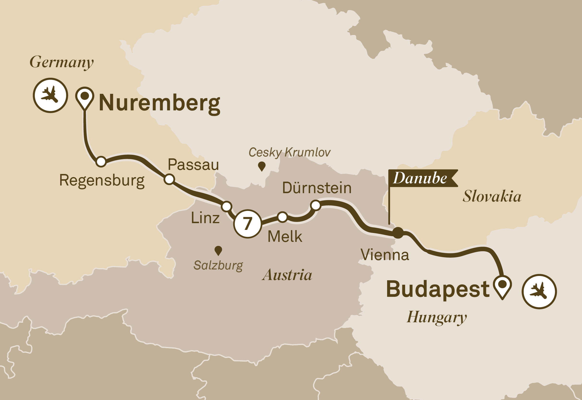 Gems of the Danube Nuremberg to Budapest 2018