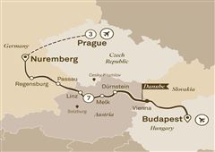 Gems of the Danube with Prague Budapest to Prague 2019