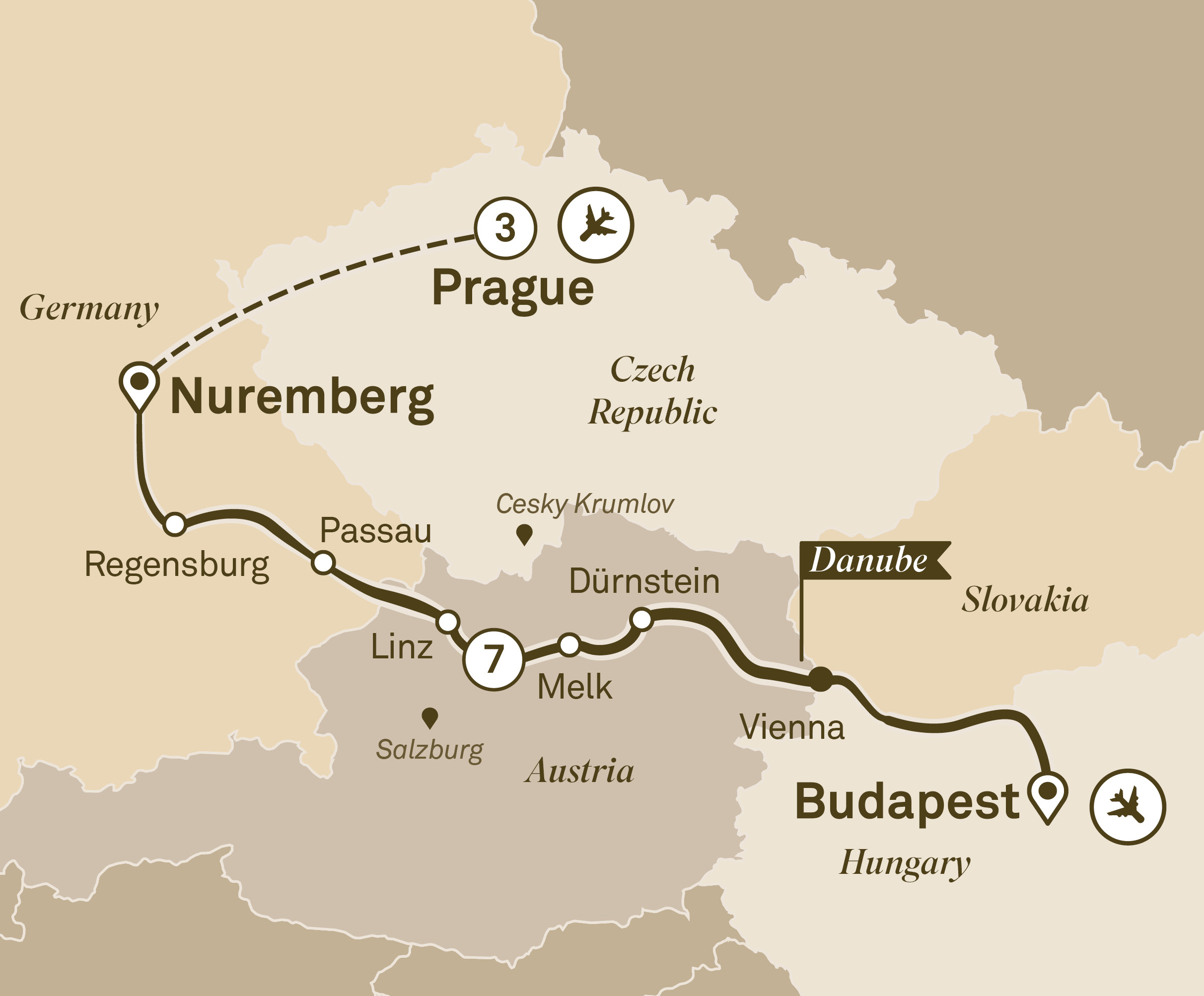 Gems of the Danube with Prague Prague to Budapest 2018