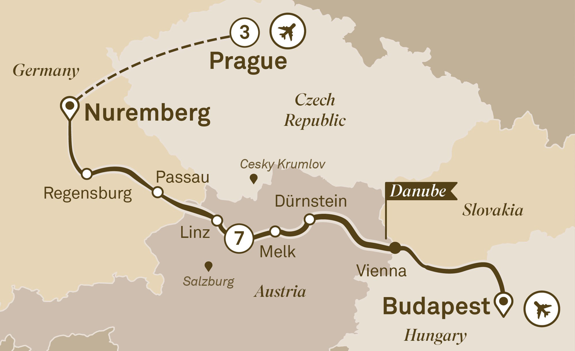 Danube Christmas Markets with Prague Budapest to Prague 2018