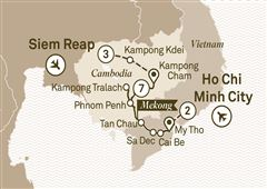 Treasures of the Mekong Ho Chi Minh City to Siem Reap 2018