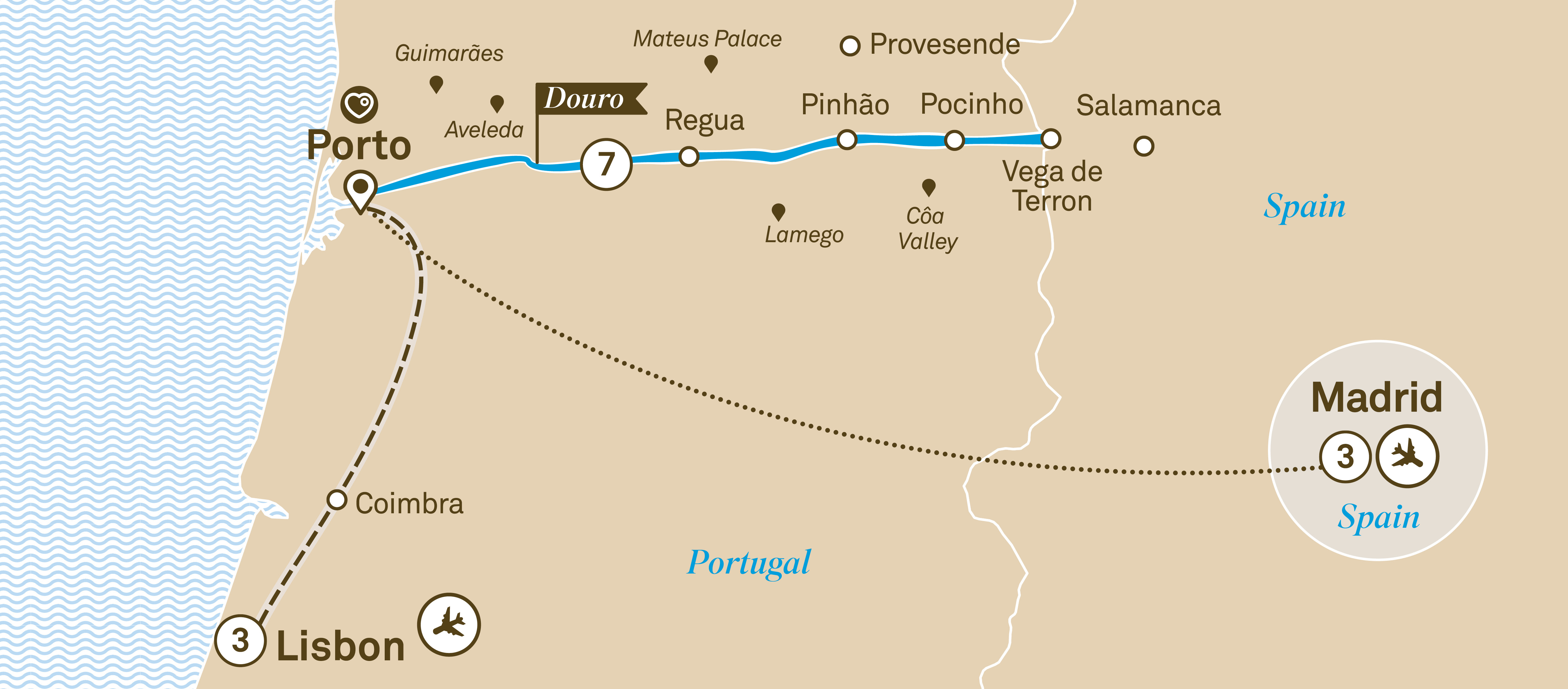 Delightful Douro with Lisbon and Madrid Lisbon to Madrid 2019