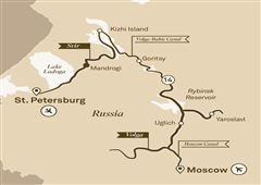 Jewels of Russia Moscow to St Petersburg 2019