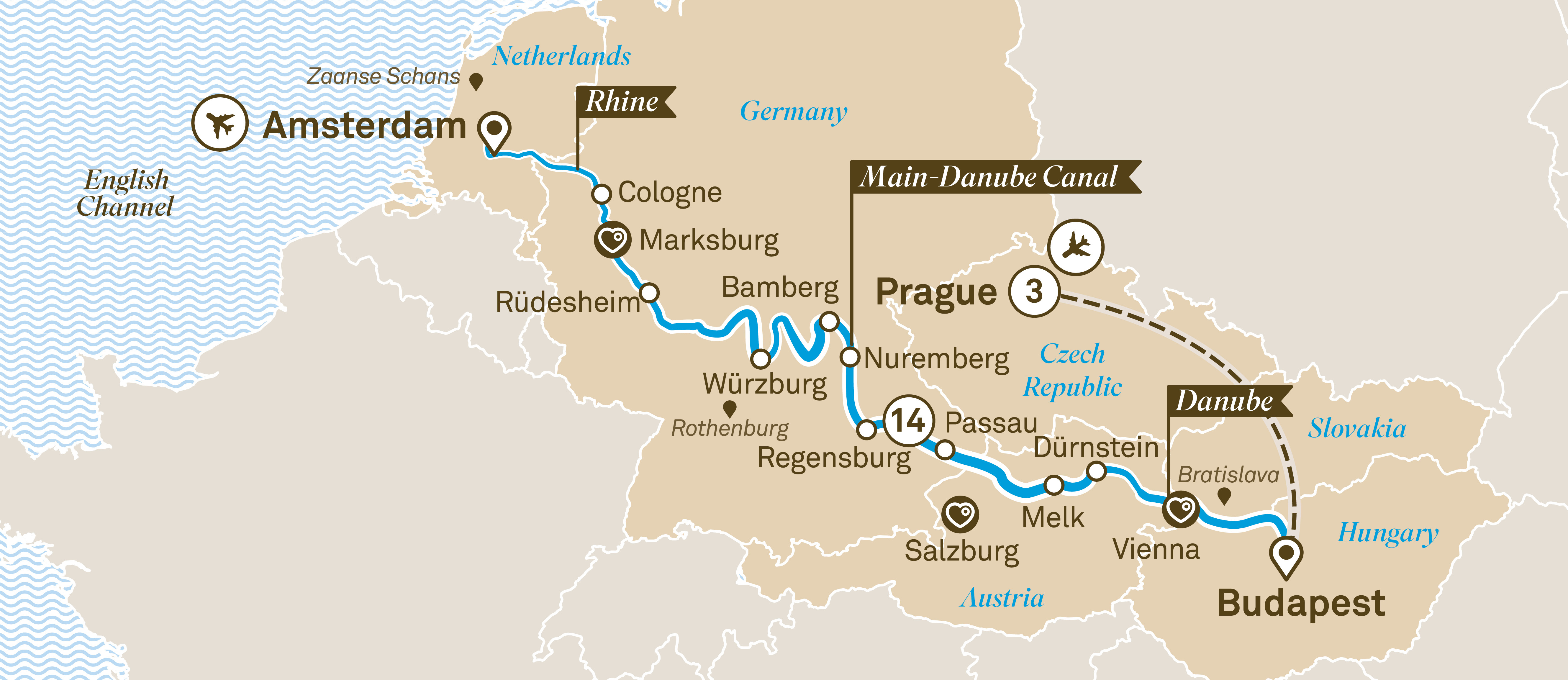 Jewels of Europe with Prague Prague to Amsterdam 2019