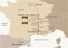 Enchanting Rhône with Barcelona & Paris Barcelona to Paris 2019