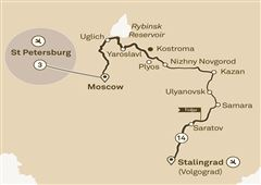 Imperial Russia with St. Petersburg St Petersburg to Stalingrad (Volgograd) 2018