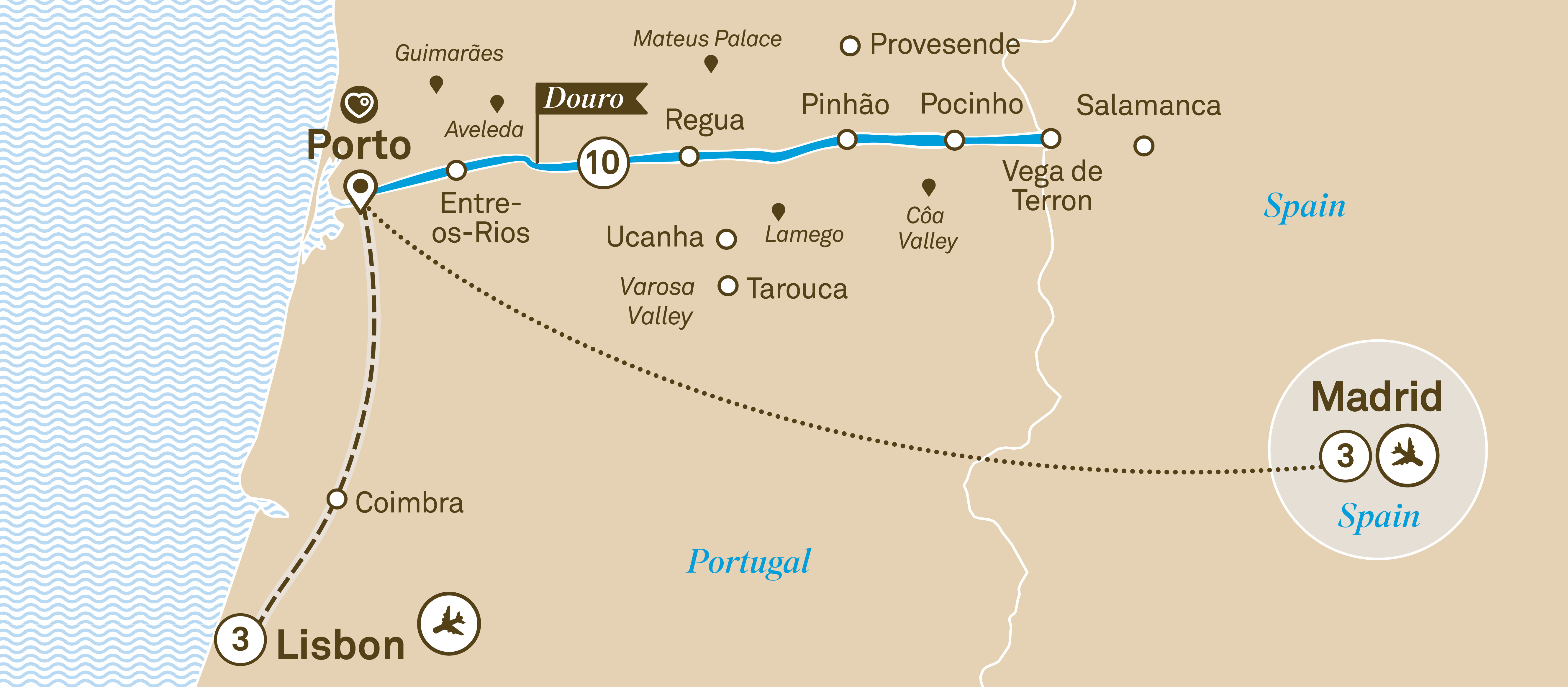 Unforgettable Douro with Lisbon & Madrid Lisbon to Madrid 2019