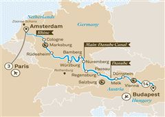 Jewels of Europe with Paris Paris to Budapest 2019