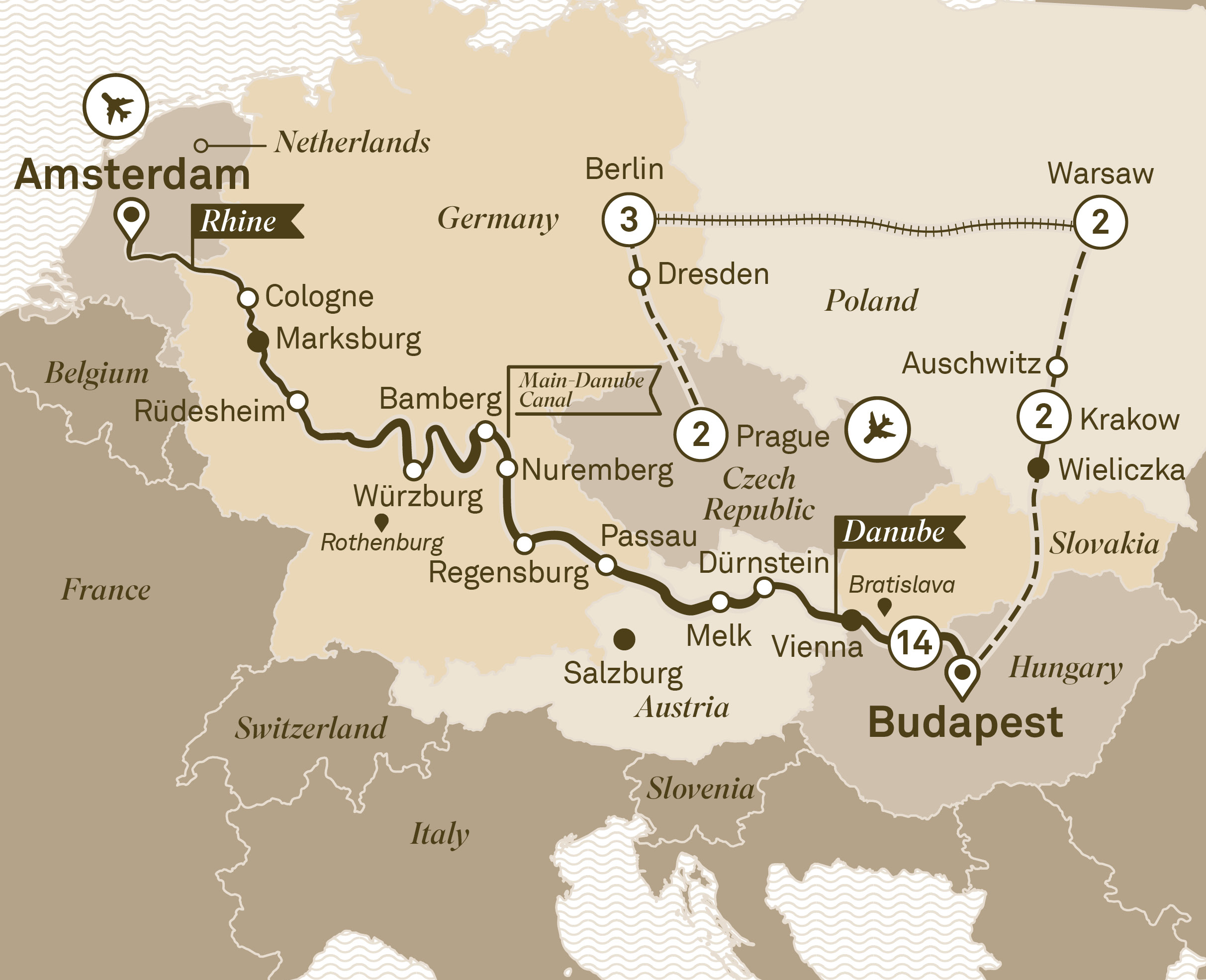 Jewels of Europe with Eastern Europe Explorer Prague to Amsterdam 2018