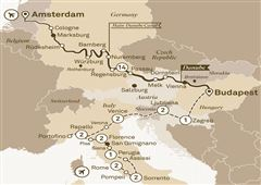 Jewels of Europe with Italian Serenade Rome to Amsterdam 2018