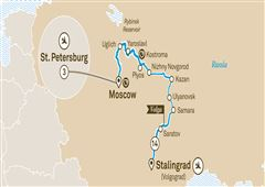 Imperial Russia with St. Petersburg Stalingrad (Volgograd) to St Petersburg 2019