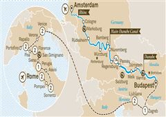 Jewels of Europe with Italian Serenade Rome to Amsterdam 2019