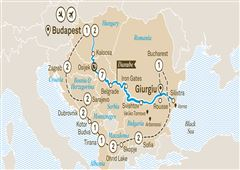 Black Sea Explorer with Best of the Balkans Budapest to Budapest 2019