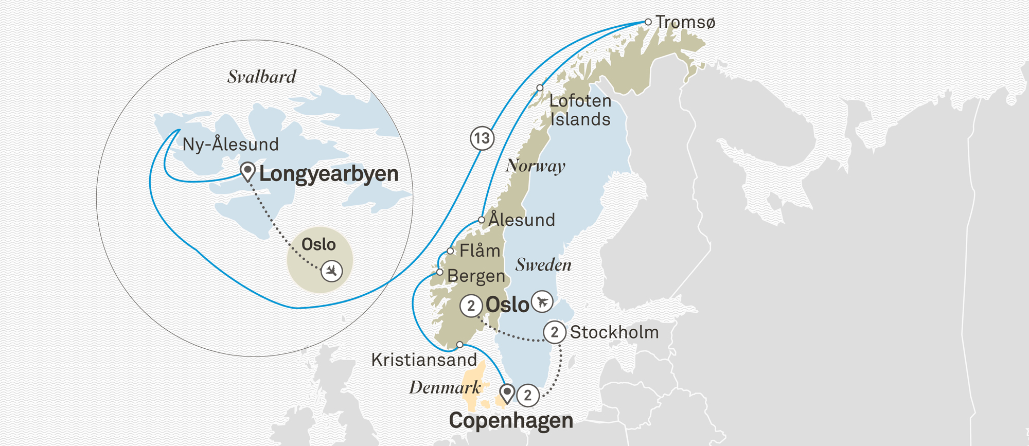 Across the Arctic Circle with Scandinavian Highlights Oslo to Oslo 2020