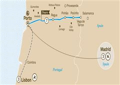 Delightful Douro with Lisbon and Madrid Lisbon to Madrid 2020