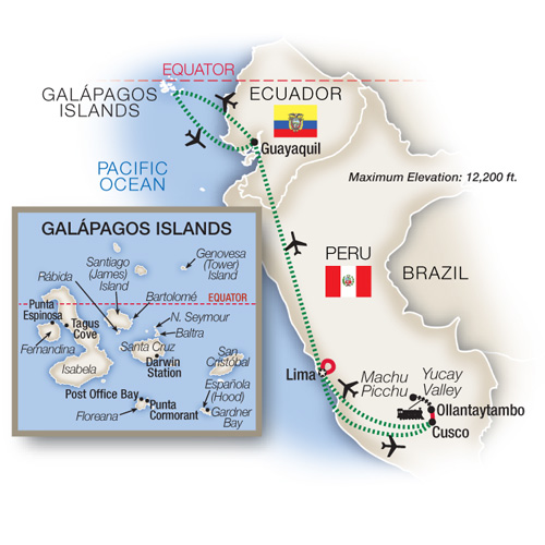 Peru and the Galápagos Islands 2018