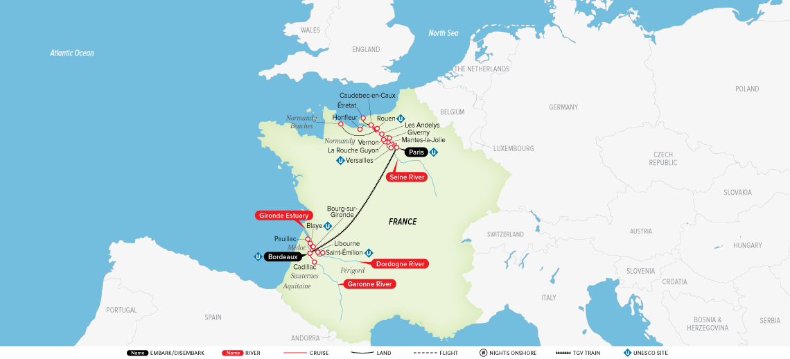 A Portrait of Majestic France: Paris to Bordeaux 2020