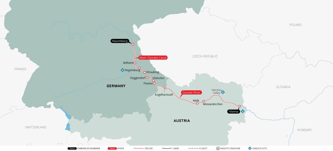 Authentic Danube: Vienna to Nuremberg 2020
