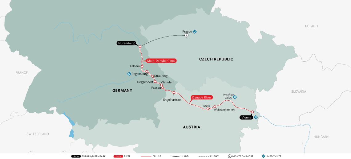 Authentic Danube & Prague: Vienna to Prague 2020