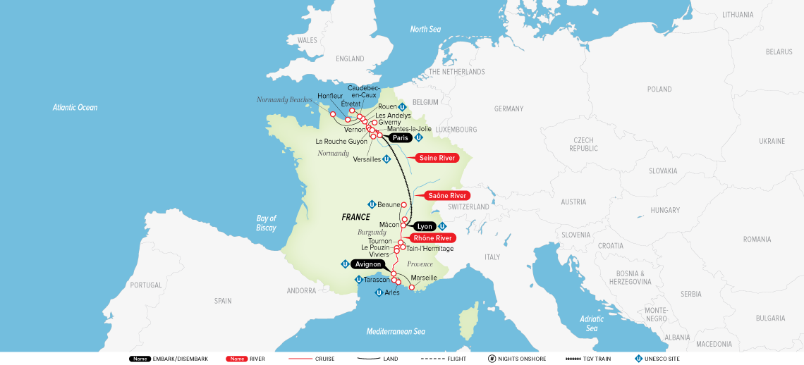 Grand France: Paris to Avignon 2020