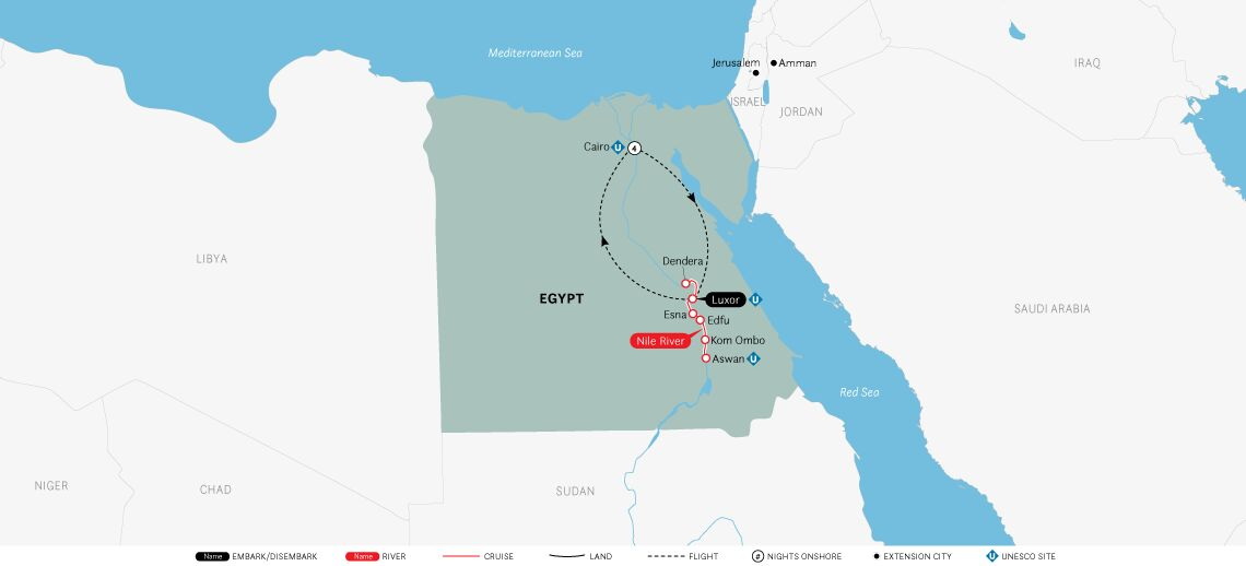 Splendors of Egypt & the Nile: Cairo to Cairo - River Tosca 2021