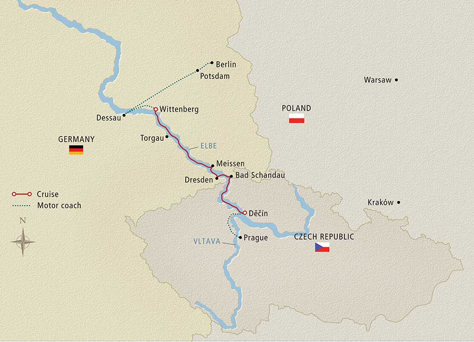 Elegant Elbe Prague to Berlin 2018