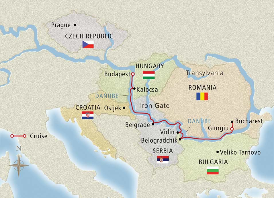 Passage to Eastern Europe Budapest to Bucharest 2019