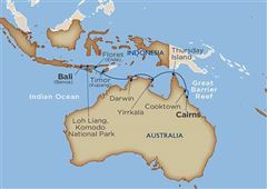 Australia & Indonesia Encounter Benoa (Denpasar) Cairns 2020