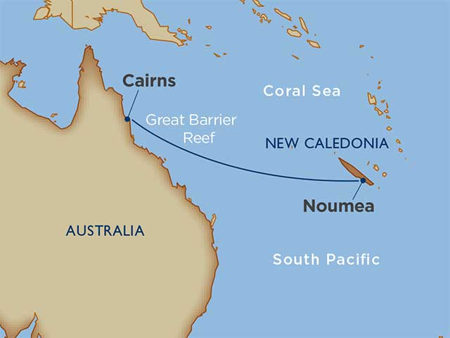 Coral Sea Crossing: New Caledonia to Australia Cairns Noumea 2020