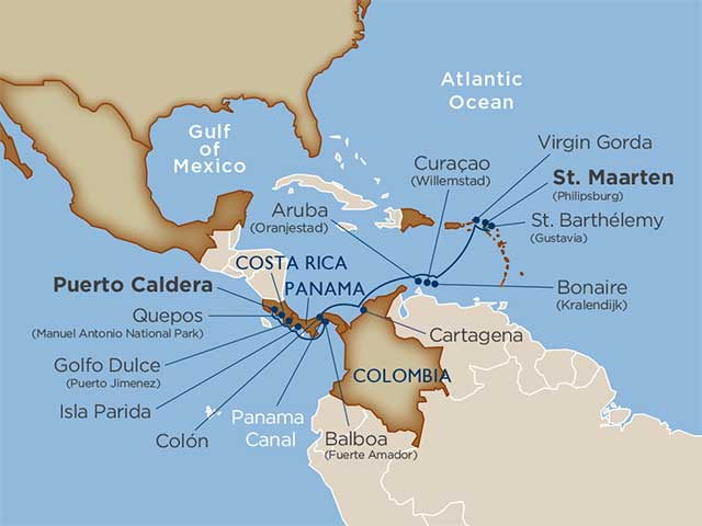 Star Collector: Rum, Reefs & Rainforests: Central America & the Caribbean  Puerto Caldera 2020