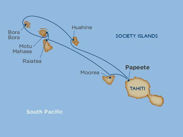 Dreams of Tahiti Air + Hotel Package  Papeete 2021