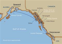 Alaskan Splendors Vancouver Seward 2021 - 12 Days V1
