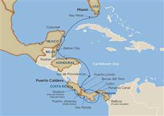 Star Collector: Discovering Unseen Central America via the Panama Canal  Puerto Caldera 2021